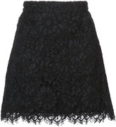 Veronica Beard lace mini skirt - women - Cotton/Nylon/Viscose - 2