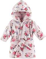 Luvable Friends Pink Floral Bathrobe - Infant