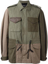 3.1 Phillip Lim patchwork field jacket - men - Cotton/Nylon - L