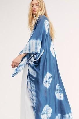 Free People Spellbound Tie Dye Kimono