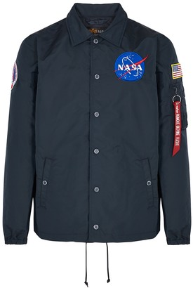 Alpha Industries NASA MA-1 navy shell jacket
