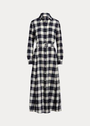 Ralph Lauren Plaid Wool Shirtdress
