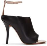 Givenchy Black & Beige Heeled Sandals