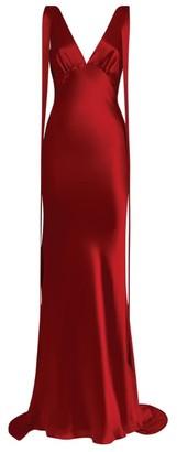 Rachel Gilbert Satin Lior Gown