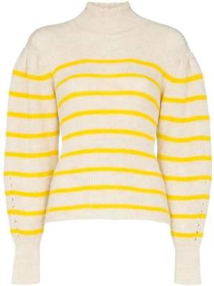Etoile Isabel Marant Georgia striped knit jumper