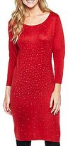 JCPenney Studded Sweater Dress