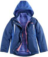 Hawke & Co Girls 7-16 Heavyweight 4-in-1 Systems Jacket