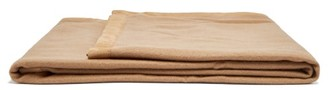 Frette Cashmere And Suede Blanket - Beige