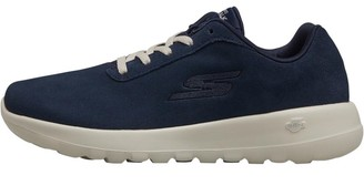Skechers Womens GOwalk Joy Evaluate Trainers Navy/White