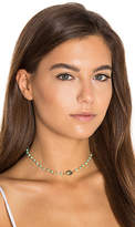 Natalie B x REVOLVE African Opal Chain & Labradorite Buried Treasure Necklace in Metallic Gold.