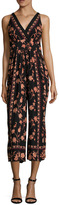 Plenty by Tracy Reese Printed Flared Jumpsuit