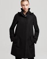 Marc New York A Line Zip Front Raincoat