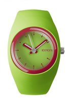 Ioion IO?ION! Io? ION. bu-lim53 – Unisex Watch – Analog – Quartz Silicone Wrist Watch Green