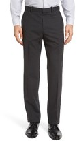 Theory Men's Marlo New Tailor 2 Flat Front Solid Stretch Wool Trousers