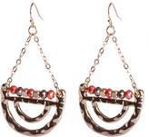 Jessica Women`s Hanging Half Circle Earrings