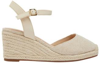 Easy Steps Santos Natural Fabric Wedge Sandal