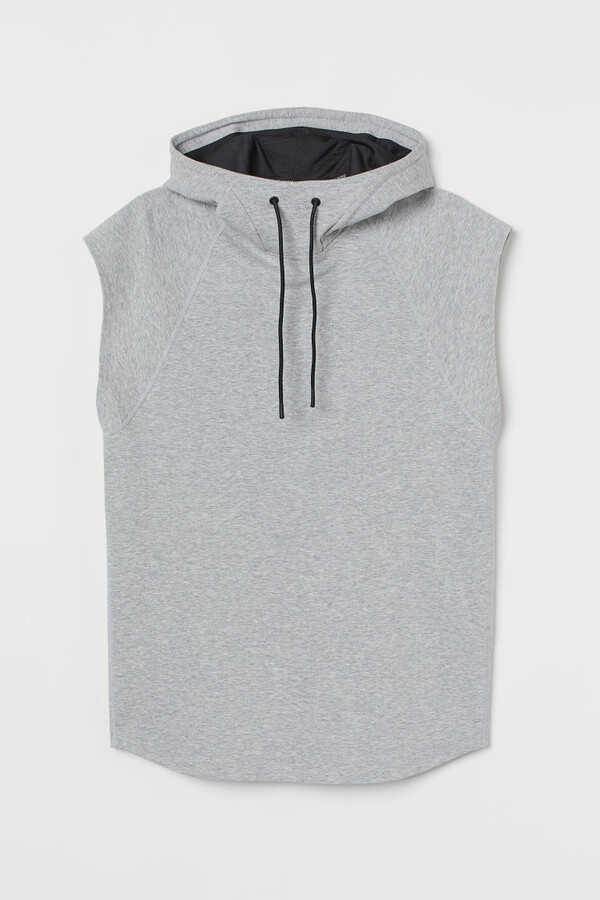Thumbnail for your product : H&M Relaxed Fit Sports Hoodie - Gray