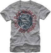 Fifth Sun Official Licensed Gas Monkey Garage Logo Vintage Style Grey Men's T-Shirt (3X-Large)