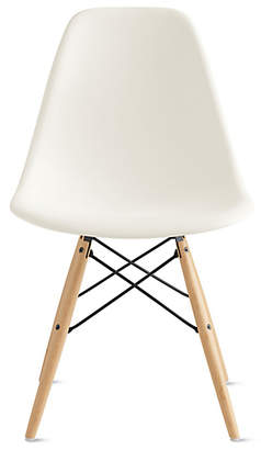 Design Within Reach Herman Miller Eames Molded Plastic Dowel-Leg Side Chair (DSW) at DWR
