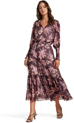 Forever New Violet Tiered Midi Dress