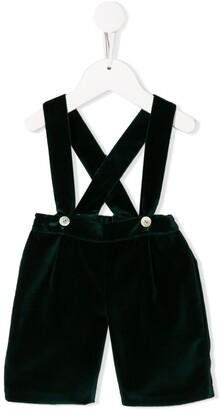 Siola Velvet Overall Shorts