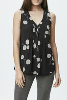 Daniel Rainn Pleated Dandelion Tank