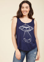 ModCloth We Come in Purrs Tank Top in 1X