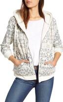 Bobeau Fleece Lined Hooded Jacket