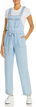 BILLY T Relaxed Drawstring-Waist Overalls