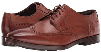 Cole Haan Jay Grand Ox Wing (British Tan) Men's Lace Up Wing Tip Shoes