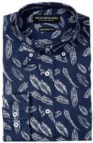 Nick Graham Feather Modern Fit Dress Shirt