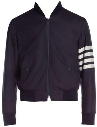 Thom Browne Knit Ribbed Blouson Jacket