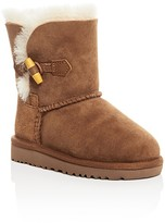 UGG Girls' Ebony Sheepskin Toggle Boots - Toddler