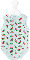 Stella McCartney watermelon print bodie - kids - Cotton - 3 mth