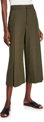 Vince Pleated Culotte Pants