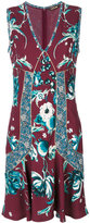 Roberto Cavalli floral embroidered dress - women - Spandex/Elastane/Viscose - 44