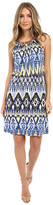Christin Michaels Keely Halter Dress