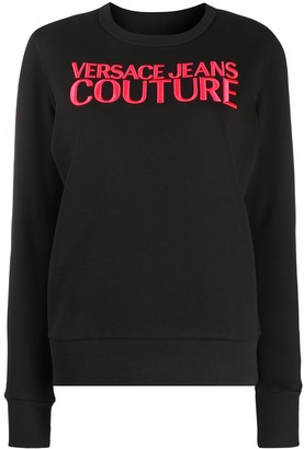 Versace Jeans Couture Embroidered Logo Sweatshirt