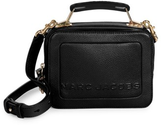 Marc Jacobs The Box Leather Top Handle Bag