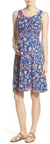 Leota Women's 'Brittany' Sleeveless A-Line Maternity Dress
