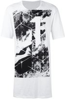 11 By Boris Bidjan Saberi graphic logo print T-shirt - men - Cotton - XS