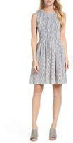 French Connection Women's Serge Smocked Dress