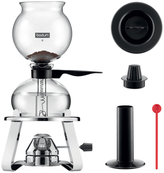 Bodum Pebo Vacuum Coffee Maker with Burner and Accessories (5 PC)