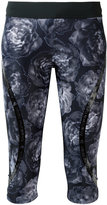 adidas by Stella McCartney Run three-quarter tights - women - Polyester/Spandex/Elastane - S