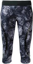 adidas by Stella McCartney Run three-quarter tights - women - Polyester/Spandex/Elastane - XS