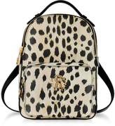 Roberto Cavalli Animal Printed leather Small Backpack