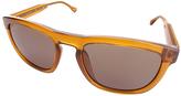 Calvin Klein Gray & Orange Square Sunglasses - Women