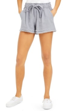 Rewash Juniors' Frayed Shorts