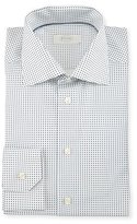 Eton Contemporary Fit Micro-Dot Woven Dress Shirt, Multi