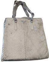 Prada Gold Python Handbags